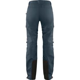 Fjällräven Bergtagen Pantalones Mujer, mountain blue